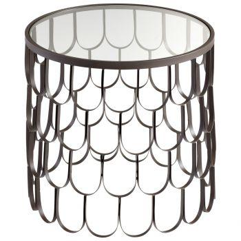 "Cyan Design Bradley 22"" Table in Graphite"