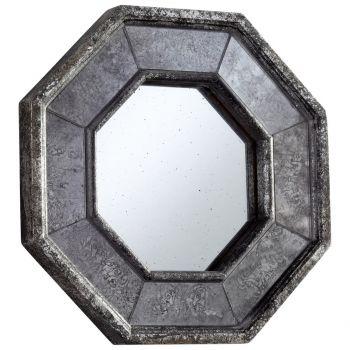 """Cyan Design Sparta 13.25"""" Mirror in Antique Silver"""