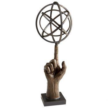 "Cyan Design I Got This 17.5"" Sculpture in Bronze"