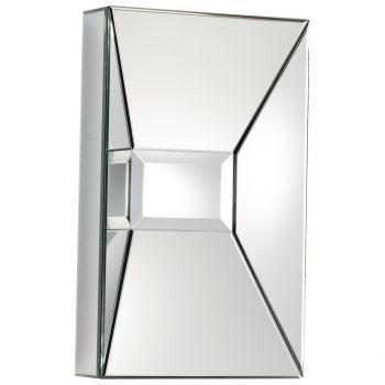 """Cyan Design Pentaplicate 25.5"""" Rectangle Mirror in Clear"""