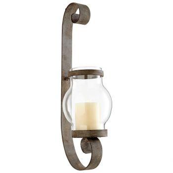"Cyan Design Giralda 19.75"" Candleholders in Oyster Silver"