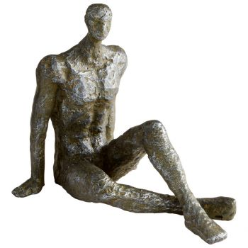 "Cyan Design Andreas 6.75"" Iron Sculpture in Rustic"