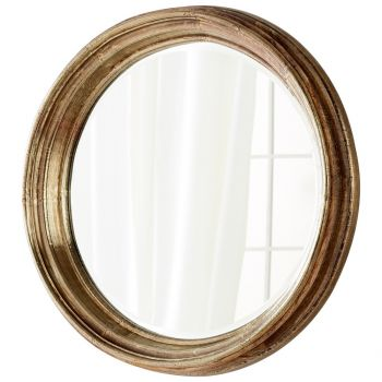 "Cyan Design Mint 29"" Mirror in Gold"