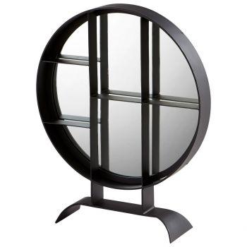 """Cyan Design Nexus 27"""" Mirror in Matte Black"""