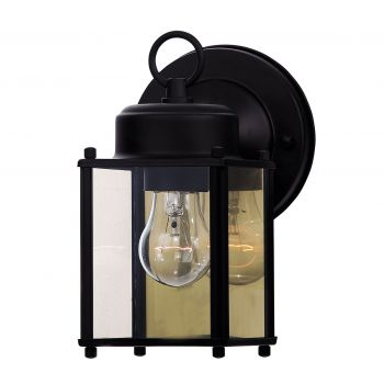 "Savoy House Exterior Collections 5.5"" Wall Lantern in Black"