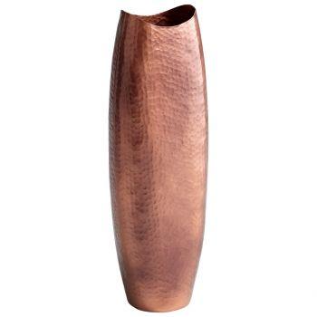 "Cyan Design Tuscany 24.25"" Vase in Antique Copper"