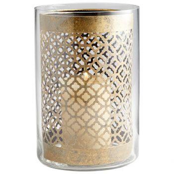 """Cyan Design Versailles 11.75"""" Candleholder in Gold"""