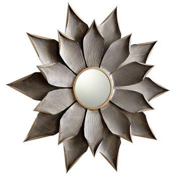 """Cyan Design Blossom 38.25"""" Mirror in Graphite"""