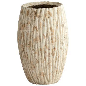 """Cyan Design Rotundus 18.5"""" Round Cement Planter in Brown"""