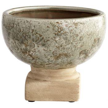 "Cyan Design Govea 6"" Planter in Olive Glaze"