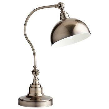 "Cyan Design Chemile 20.5"" Desk Lamp in Pewter"