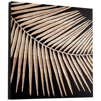 "Cyan Design Destin 23.75"" Wood Wall Art in Black"