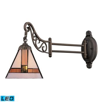 "ELK Mix-N-Match 12"" Wall Sconce in Tiffany Bronze"