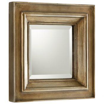"Cyan Design Barclay 18"" Mirror in Silver Oxide"