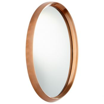 "Cyan Design Rimrock 22"" Mirror in Satin Copper"