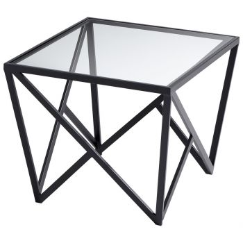 "Cyan Design Dimitri 23.75"" Side Table in Black"