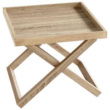 """Cyan Design Savannah 20.5"""" Wood Tray in Oak Veneer"""