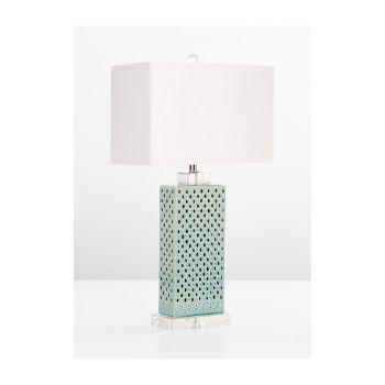 "Cyan Design Sareta 28"" Table Lamp in Blue"