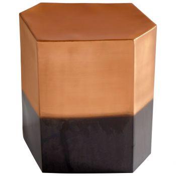 "Cyan Design Golden Hunk 18"" Stool in Copper"