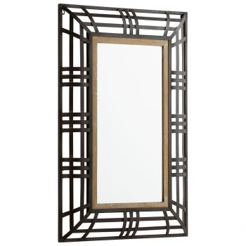 """Cyan Design Banded Out 36"""" Mirror in Bronze"""