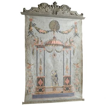 """Cyan Design Ethereal Days 81.25"""" Chinoiserie in Oxide"""