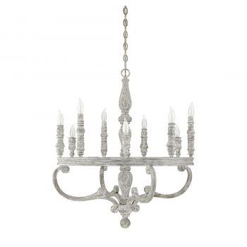 "Savoy House Westbrook 31.5"" 9-Light Chandelier in Charisma"