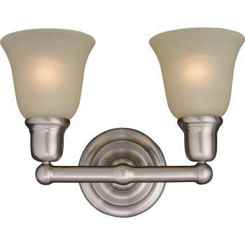 Maxim Lighting Bel Air 2-Light Bath Vanity in Satin Nickel