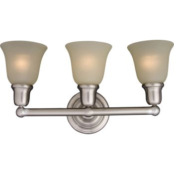 Maxim Lighting Bel Air 3-Light Bath Vanity in Satin Nickel