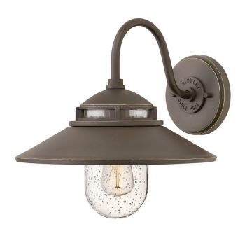 Hinkley Atwell 1-Light Outdoor Small Wall Mount in Oil Rubbed Bronze