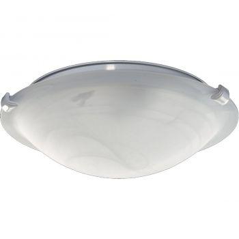 """Quorum Kit 12"""" 2-Light Ceiling Fan Light Kit in White"""