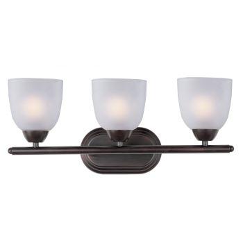 Maxim Lighting Axis 3-Light Bath Vanity - Oil Rubbed Bronze