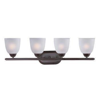 Maxim Lighting Axis 4-Light Bath Vanity - Oil Rubbed Bronze