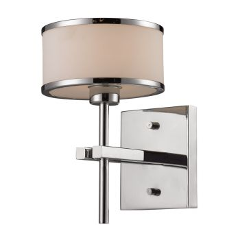 "ELK Utica 6"" Bathroom Vanity Light in Polished Chrome"