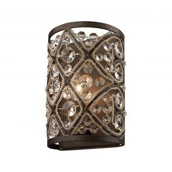 """ELK Amherst 6"""" Bathroom Vanity Light in Antique Bronze"""