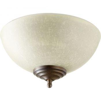Quorum Kit 2-Light LED Linen Light Kit in Toasted Sienna/Oiled Bronze