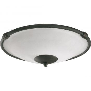 """Quorum Kit 12.5"""" 2-Light Ceiling Fan Light Kit in Old World"""