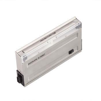 """Kichler 120V 27K 7"""" Design Pro LED Undercabinet in Stainless Steel"""