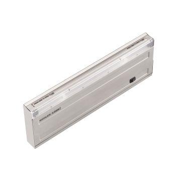 """Kichler 120V 3K 12"""" Design Pro LED Undercabinet in Stainless Steel"""