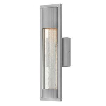 Hinkley Mist 1-Light Outdoor Small Wall Mount in Titanium