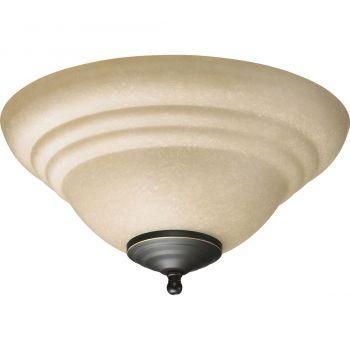 Quorum Kit 2-Light Ceiling Fan Light Kit in Toasted Sienna/Old World