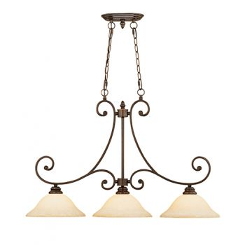 Millennium Lighting Oxford Island Light in Rubbed Bronze