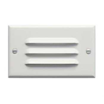 "Kichler Step and Hall 4.5"" LED Horizontal Step Light in White"
