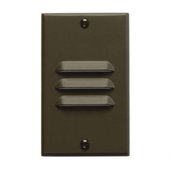 Kichler Step and Hall LED Vertical Step Light in Architectural Bronze