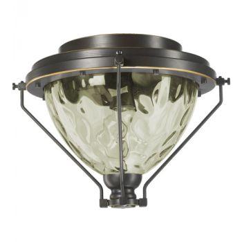"Quorum Adirondacks 13"" Patio Light Kit in Old World"