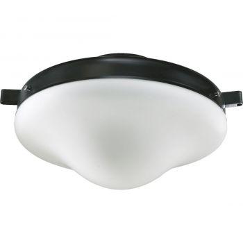 """Quorum Kit 10"""" Patio Ceiling Fan Light Kit in Old World"""