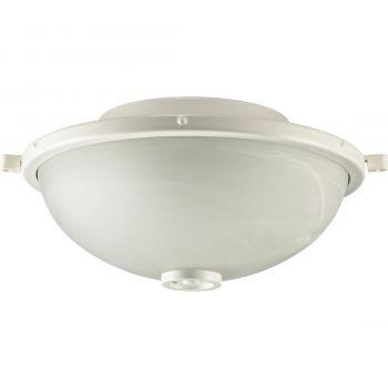 """Quorum Marsden 13.75"""" 2-Light Patio Light Kit in Studio White"""