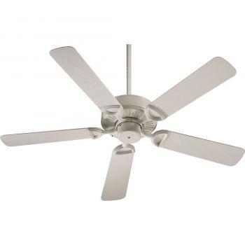 """Quorum Estate Patio 52"""" 5-Blade Patio Fan in Antique White"""
