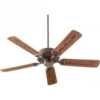 "Quorum Estate Patio 52"" 5-Blade Patio Fan in Oiled Bronze"