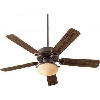 "Quorum Estate Patio 52"" 2-Light Patio Fan in Oiled Bronze"