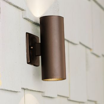 Kichler Landscape Up/Down Light in Textured Architectural Bronze